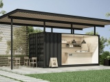 How You Can Create A Café With A Shipping Container